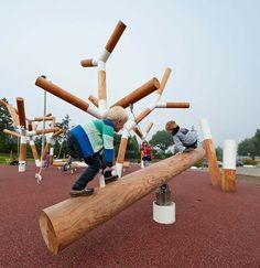 The Pulse Park, Arhus Denmark, CEBRA, 2012 - Playscapes
