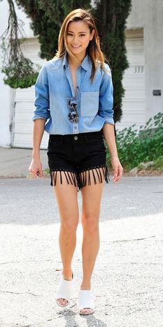 Let Jamie Chung Inspire Your Summer Festival Packing List via @WhoWhatWear