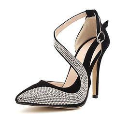 Scarpe Donna - Scarpe col tacco - Casual - Tacchi - A stiletto - Sintetico - Nero del 2015 a €36.09