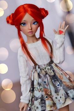 ♥ (4arllin) Tags: alpaca doll tan wig moe bjd fairyland celine mnf minifee