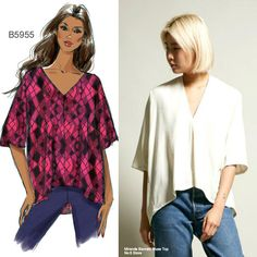 Sew the Look: Butterick B5955 top pattern