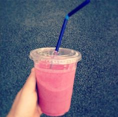 our freakin  delicious black berry smoothie☆