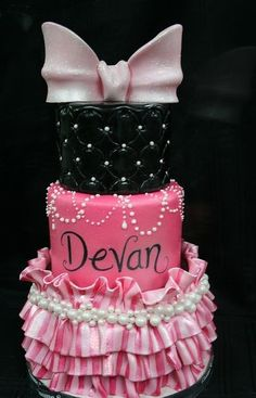 Cute girly cake