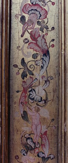 Tordesillas, San Antolín, painted panel    Por groenling