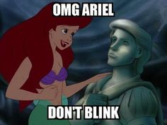 OMG Ariel! Don't blink! Disney and Doctor Who. Oh how  I love these!