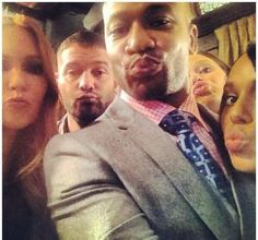 Scandal Selfies. This is probably the best thing I've seen all week...