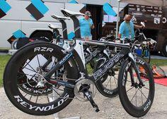 22 Time Trial Bikes of the 2012 Tour de France Bicycling Magazine, Trial Bike, Triathlon, Trials, Bicycle, Tours, Google Search, Green, Dirt Biking