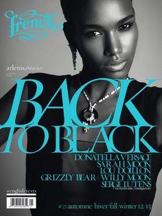 November 2012 Magazine Cover - Arlenis Sosa