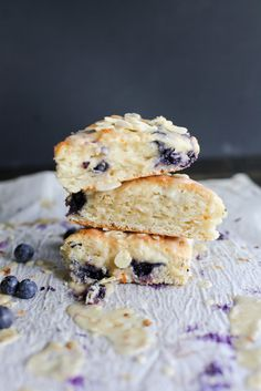 Blueberry & Orange Maple Scones