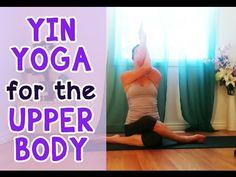 Yin Yoga for Neck, Shoulder & Upper Back Tension Relief - YouTube