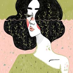 Kathrin Honesta graduated in Advertising and Design, but decided to dedicate herself full time to her great passion, illustration. Art And Illustration, Illustrations And Posters, Expo, Grafik Design, Art Inspo, Art Girl, Illustrators, Cool Art, Art Drawings