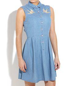 Pale Blue (Blue) Firetrap Maria Denim Dress | 245795045 | New Look WANT WANT WANT WANT!!!