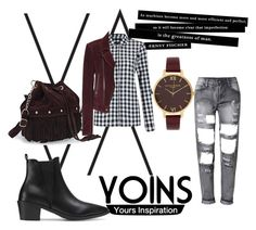 """Why not???"" by lialondon ❤ liked on Polyvore featuring Olivia Burton, Balenciaga and yoins"