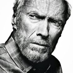 Portrait Clint Eastwood - American actor, film director, producer and composer. Photo by Platon Clint Eastwood, Black And White Portraits, Black And White Photography, Fotografia Pb, Foto Face, Hollywood, Celebrity Portraits, Portrait Inspiration, Best Actor
