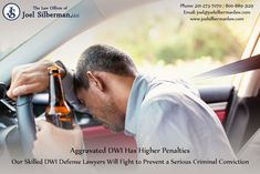 Aggravated DWI Has Higher Penalties Our Skilled DWI Defense Lawyers Will Fight to Prevent a Serious Criminal Conviction