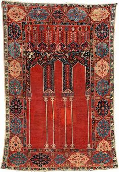 Buy online, view images and see past prices for The 'Anton Danker' Ladik Coupled-Column Prayer Rug (Published),. Invaluable is the world's largest marketplace for art, antiques, and collectibles.