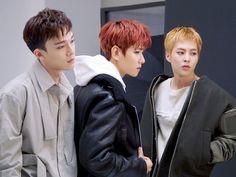 [#보그 12월호 자선화보 촬영 현장] -#EXO-CBX 편-  #SM 아티스트와 #VOGUE 의 특별한 만남, 보그 12월