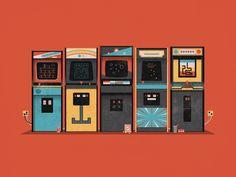 Arcade Print // DKNG Studios
