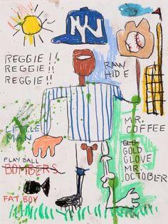 Jean-Michel Basquiat - Artist XXème - Underground Art - NeoExpressionism - Jmb 04