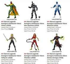 Suuuper Low Cost (& New) Hasbro Marvel Legends At Dorksidetoys From Only $9.99!  http://ift.tt/1ydvrL3  Be Quick To Grab These!  #marvel #marvellegends #hasbro #doctorstrange #thevision #IronMan #hulkbuster #baf #dorksidetoys #warmachine #twitter #googleplus