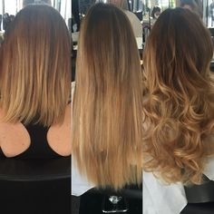 Bonding extensions before and after