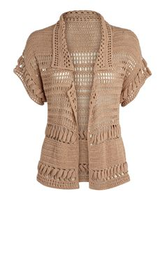 Outstanding Crochet: Karen Millen. Jacket and dress.