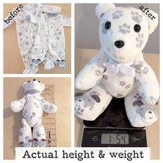 FULL TERM Memory Bear Actual birth height actual birth weight Weighted memory bear newborn gift bereavement gift - Jaxon Baby Name - Ideas of Jaxon Baby Name - Full Term Memory Bear Actual birth height actual birth Custom Teddy Bear, Newborn Schedule, Micro Preemie, Bereavement Gift, Birth Weight, First Birthday Gifts, Baby Memories, Newborn Gifts, Baby Crafts