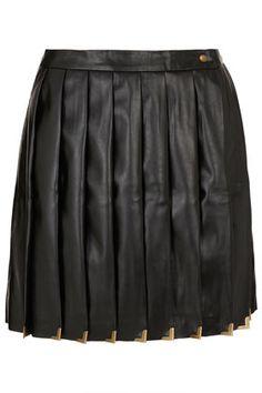 Premium Black Pleat Kilt Skirt