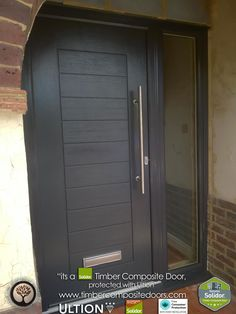 Schwarzbraun Solidor Timber Composite Doors with Ultion Locks Solidor Timber Composite Doors 12 Months Interest Free Credit Real Pictures, Real Homes, Real Doors, Real Solidor a small selection of fitted Solidor Timber Composite Doors installed and fitted by ourselves throughout the UK. Design yours online at our site below #solidor #compositedoors #compositedoors #frontdoors With #ultion #ultionlocks as standard #solidor