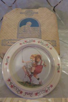 "1984 JUNE Sarah Stilwell Weber Calendar Collection 7"" Collector Plate Complete"