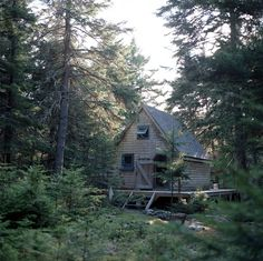 Shingled cabin on the island of Islesboro, Maine. Submitted by Scott Meivogel.