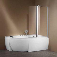 Fortuna K-715 Σετ Ασύμμετρη Μπανιέρα Υδρομασάζ με Μπαταρία & Καμπίνα 160χ105 - FLOBALI #ΜΠΑΝΙΟ #Μπανιέρες #bath #bathtub #bathtubs #bathtubdesign #bathdesign #bathdecor #bathdesigns #bathdesigner #bathdesignideas #design #designs #designbathroom