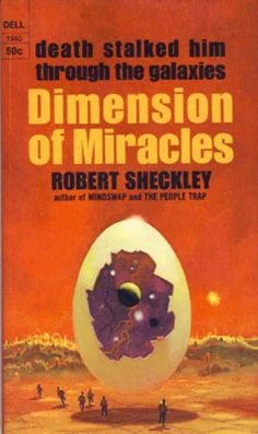 Dell Books - Dimension of Miracles. - Robert. Sheckley
