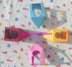 Diy : lanternes tout en couleur.  (À imprimer) Les oummis colors <3