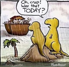 Dinosaurs missing from the ark lol
