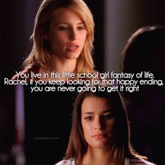 Being able to relate to Rachel not only on this scene but throughout the whole show made this scene break my heart!