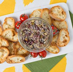 Try this delicious Chunky Tapenade recipe today!