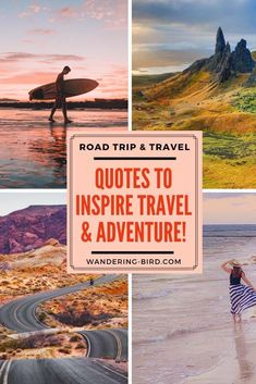 The Best Travel and Road Trip Quotes. Searching For More Funny And Inspirational Road Trip and Travel Quotes? Snap To Read Over 50 Of The Best Travel Couple Quotes, Funny Travel Quotes, Travel Humor, Adventure Awaits, Adventure Quotes, Adventure Travel, Wanderlust Travel, Travel Usa, Travel Tips