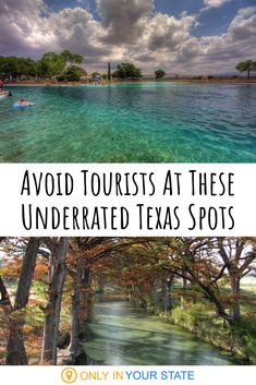 texas travel Weve got so many cant miss destinations and attractions in Texas and theyre all worth a visit, but sometimes you want to avoid the crowds. These terrific alternatives are less popular among tourists but just as amazing. Best Places To Travel, Cool Places To Visit, Places To Go, Best States To Visit, Hidden Places, Travel Things, Jacobs Well, Texas Hill Country, Texas Travel