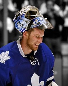 James Reimer • Toronto Maple Leafs James Reimer, Canada Eh, Hockey Mom, National Hockey League, Toronto Maple Leafs, Sports Teams, Hockey Players, Nhl, Passion