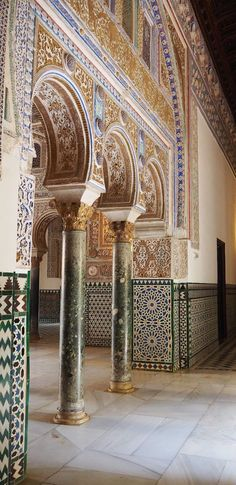 Spain Travel Inspiration - Thinking of visiting Seville on your next vacation to Europe then a visit to the Alcazar of Seville is a must. Click the link to read my Seville travel tips and also see more photos inside this beautiful palace in Seville. Spain Travel, Thailand Travel, Philippines Travel, Mexico Travel, Agadir, Alcazar Seville, Pakistan Travel, Le Palais, Palais Royal