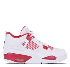 The Air Jordan IV Retros are designed with a suede and mesh upper for breathability. The sneakers have a traditional lace up closure for a secure fit. These Jordans are also made with a visible Air-So Air Jordan Iv, Jordan Shoes, Me Too Shoes, Men's Shoes, Popular Sneakers, Jordan Outfits, Single Life, Fresh Kicks, Shoe Game