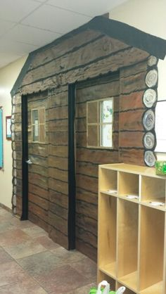 Little House In The Big Woods Log Cabin Classroom Doors