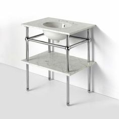 Metal Console Sink - Foter