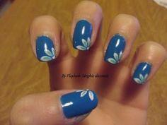 Video tutorial #13 Nail art unghie decorate con piccoli petali....By Fla...