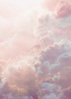Pink Clouds print / Pink cloud poster / pink dreamy sky