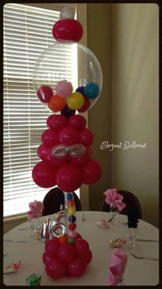 Lollie machine out of balloons!! Soo cool i wonder how hard it is to make??