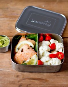 LunchBots Duo Stainless Steel Food Container, Orange