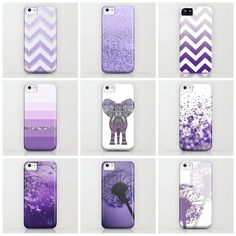 PURPLE IPHONE CASES by Monika Strigel | Society6