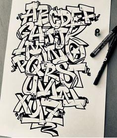 Graffiti Designs, Images Graffiti, Graffiti Alphabet Styles, Graffiti Lettering Alphabet, Tattoo Fonts Alphabet, Graffiti Doodles, Graffiti Writing, Graffiti Font, Graffiti Characters